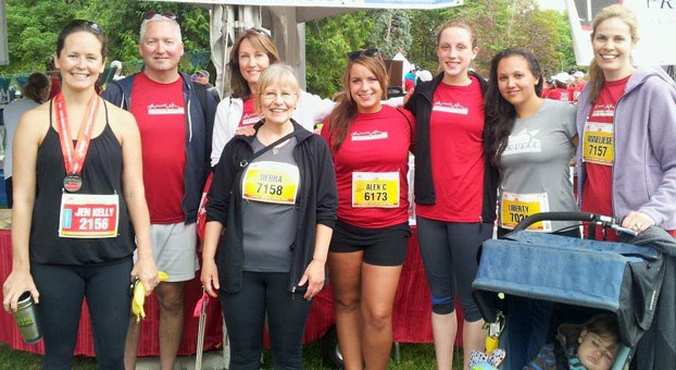 photo of 2013 Scotiabank charity Chicken Runners from VHS