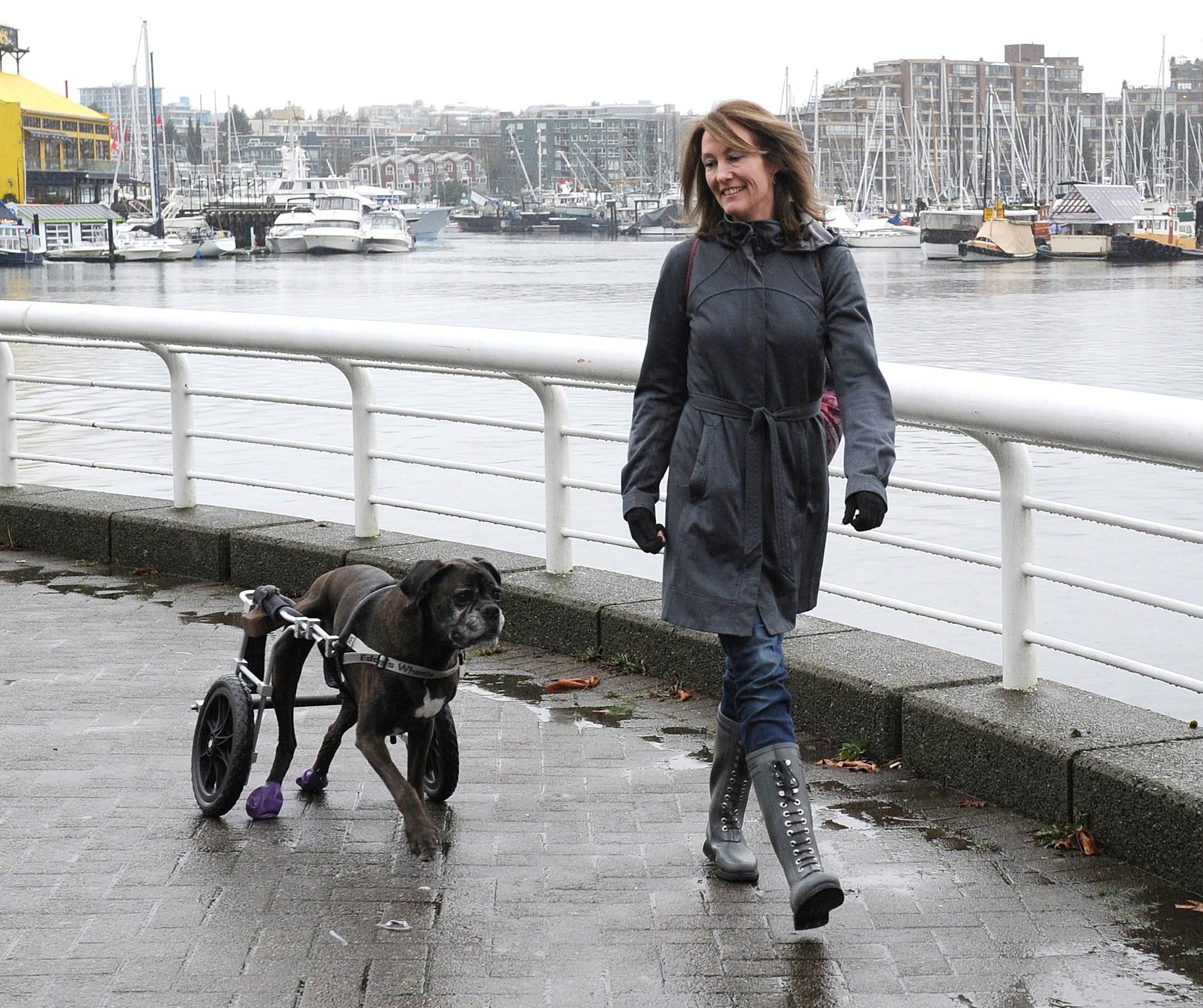 Robbie & Leanne - seawall stroll