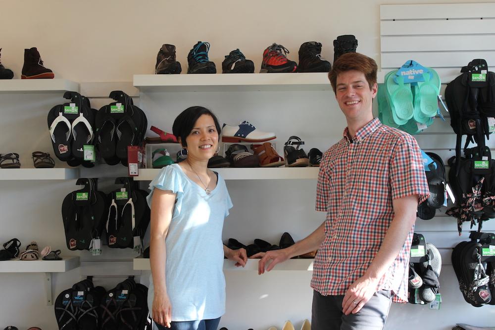 Joanne Chang and Glenn Gaetz of Nice Shoes